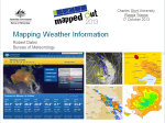 Mapping Weather Information?